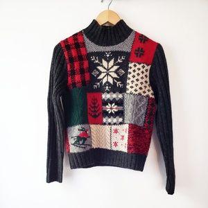 Ralph Ralph Lauren Vintage Intarsia Wool Sweater